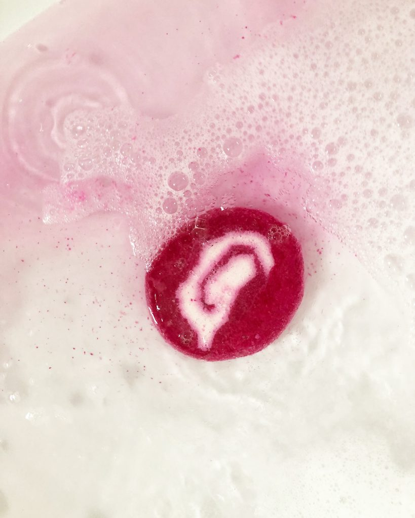 Lush Bubble Bar The comforter